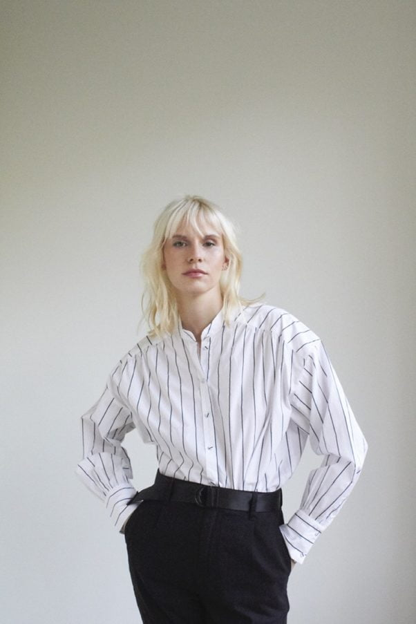 WBLBELLA LS STRIPED SHIRT