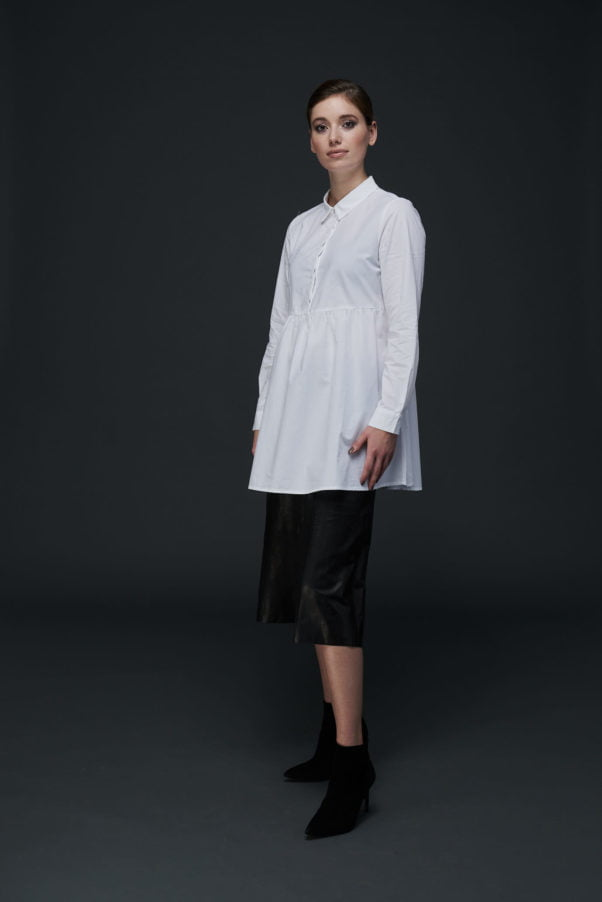 WBLMELIS PLACKET SHIRT DRESS