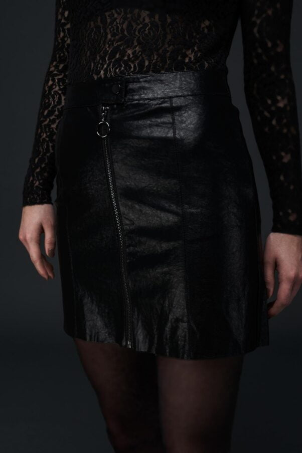 WBLPARIS FAUX LEATHER SKIRT