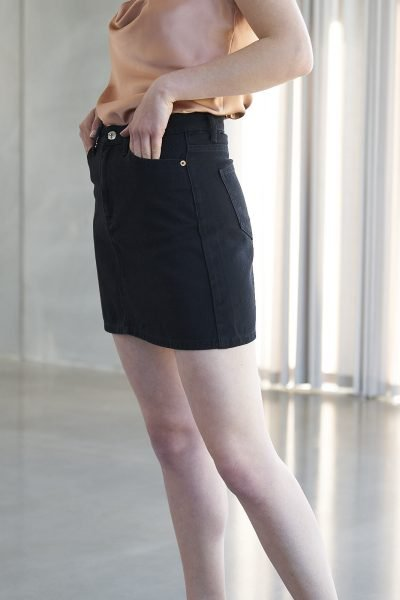 WBLCLARA HIGHW DENIM SKIRT