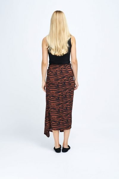 WBLCATHRINE CITY WRAP SKIRT