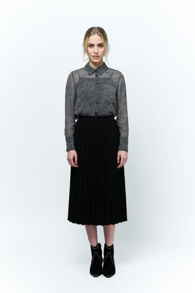 WBLLOUISE PLEAT SKIRT