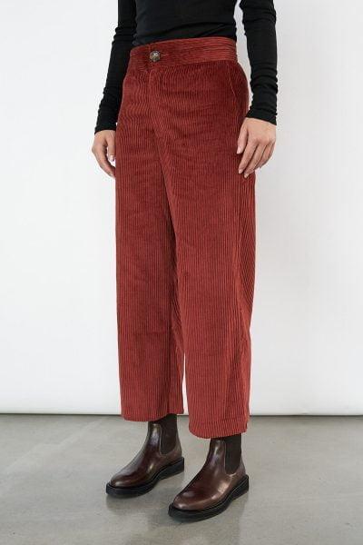 WBLLONNY CORD WIDE PANTS