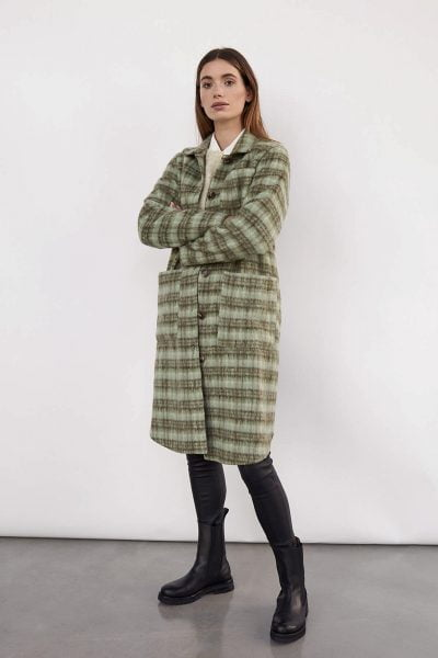 WBLASTA LONG WOOL SHIRT COAT