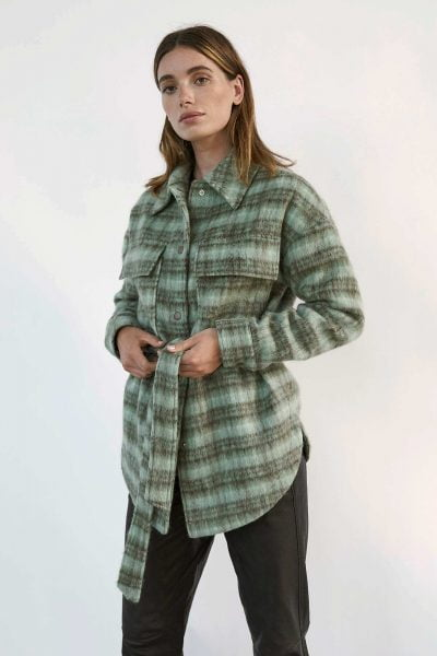 WBLDANI CHECKED WOOL JACKET