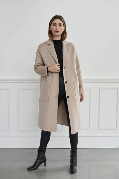 WBLDANIELLE TAILORED WOOL COAT
