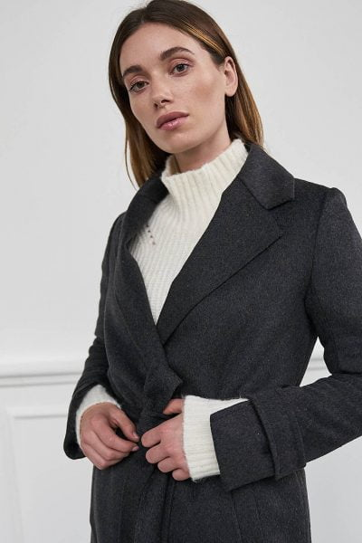 WBLMOLLEY LONG WOOL COAT