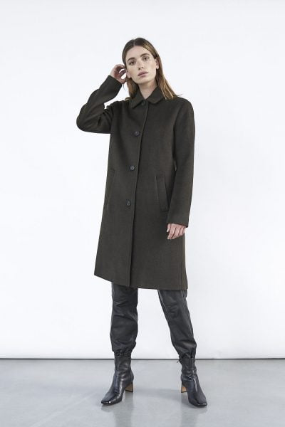 WBLRILEY WOOL COAT SOLID