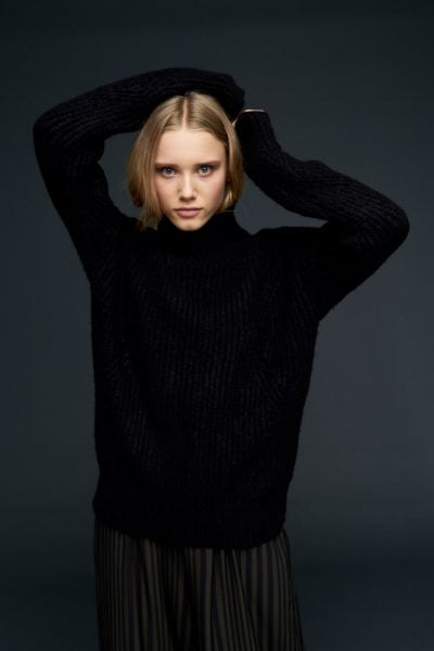 WBLSWEET HIGH NECK JUMPER