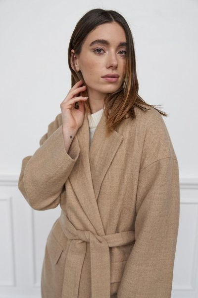 WBLCARLA LONG WOOL COAT