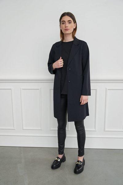 WBLLINA TAILORED BLACK COAT