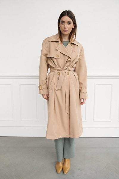WBLNOISE TRENCH COAT