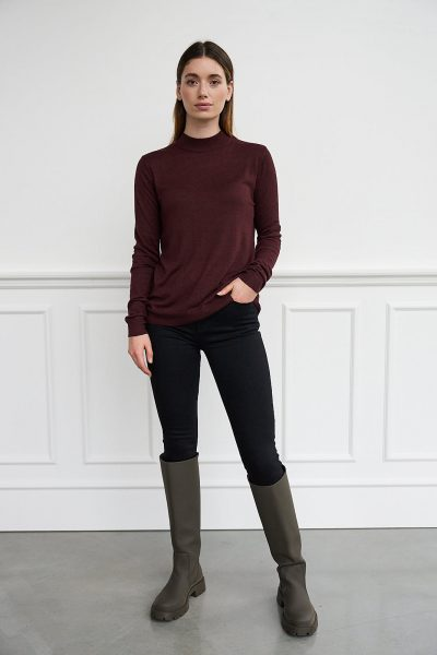WBLAVENUE CASHMERE LIGHT KNIT