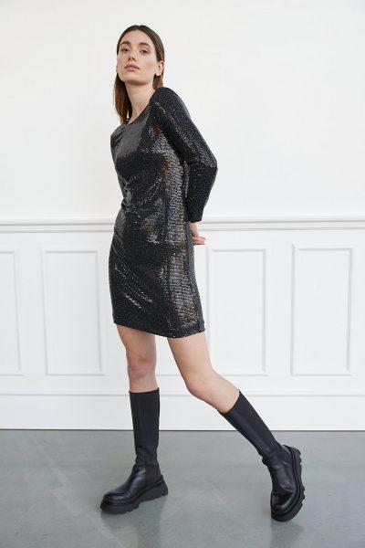 WBLPERRY SEQUIN DRESS