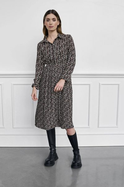 WBLELIEEN VIENNA A MIDI DRESS