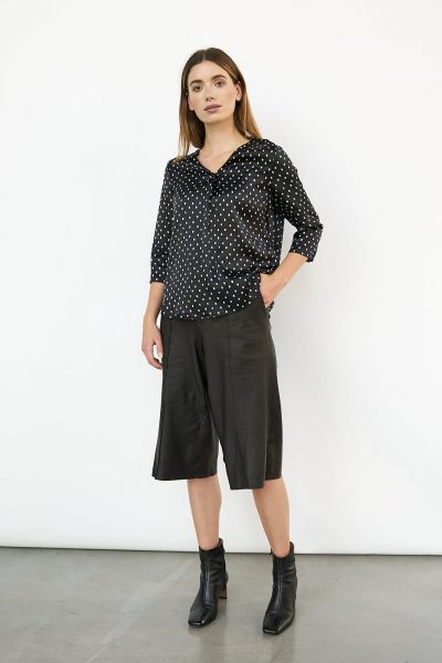 WBLJULES PORTO SILK DOT TOP