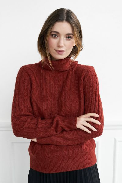WBLWENDY ROLL NECK JUMPER