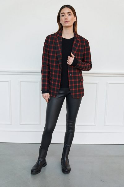 WBLSALLY CHECKED BLAZER