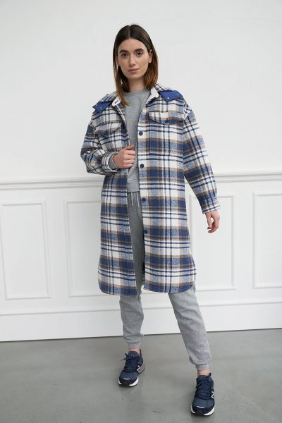 WBLCHERYL LONG SHIRT COAT