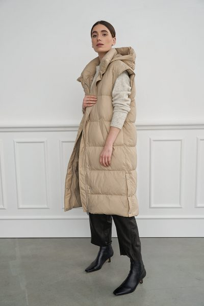 WBLVANESSA LONG DOWN VEST