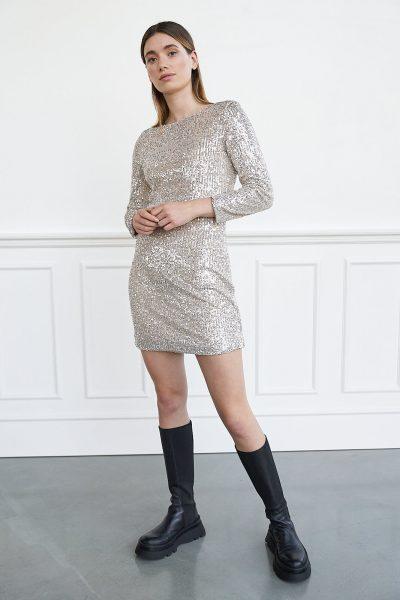 WBLTURNER SEQUIN DRESS