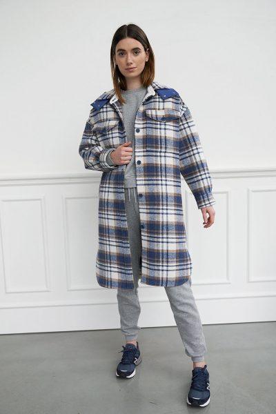 WBLCHERYL LONG SHIRT COAT