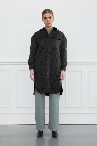 WBLCHERYL QUILTED SHIRT COAT
