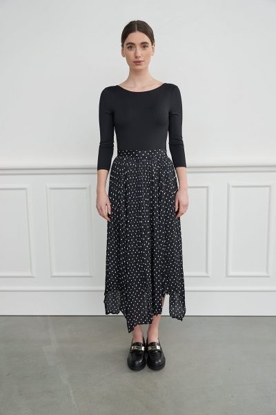 WBLROBYN PORTO SILK DOT SKIRT