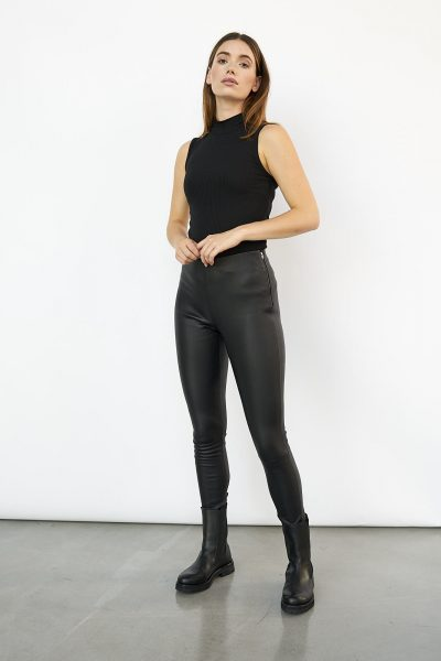 WBLLISA LEATHER LEGGINGS