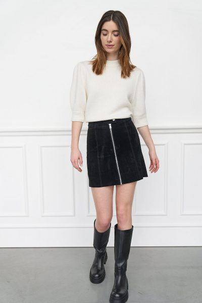 WBLPARIS SUEDE MINI SKIRT