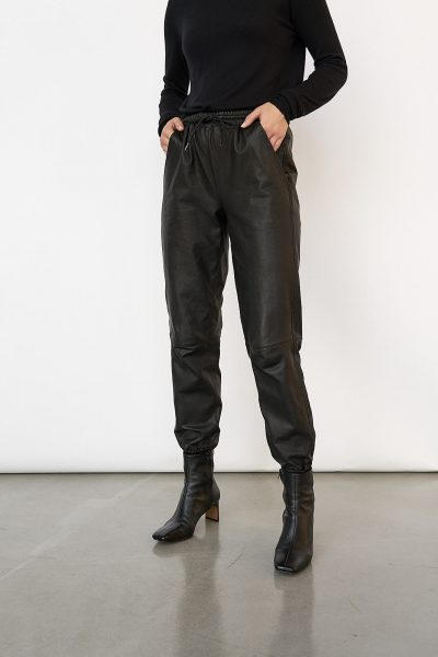 WBLROBYN LEATHER STRING PANTS