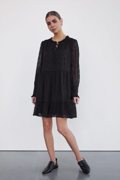 WBLCHEN LS DRESS