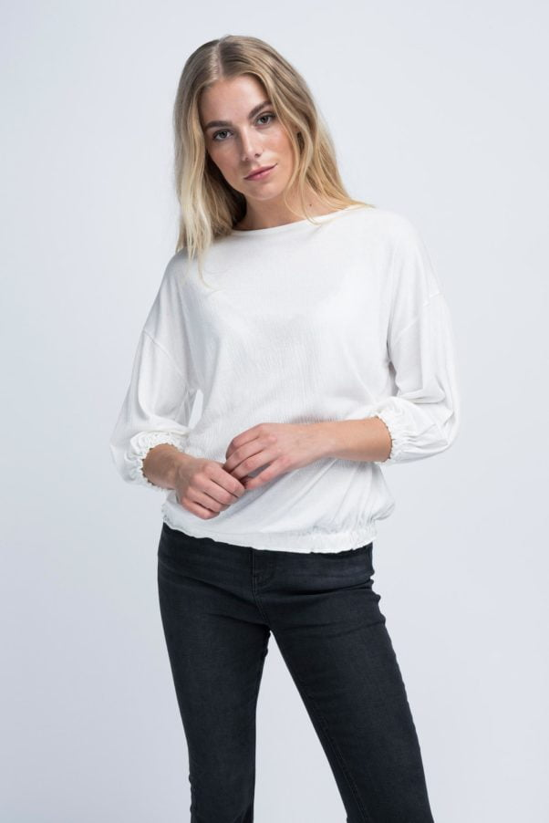 WBLSOPHIE 3/4 SLEEVE TOP