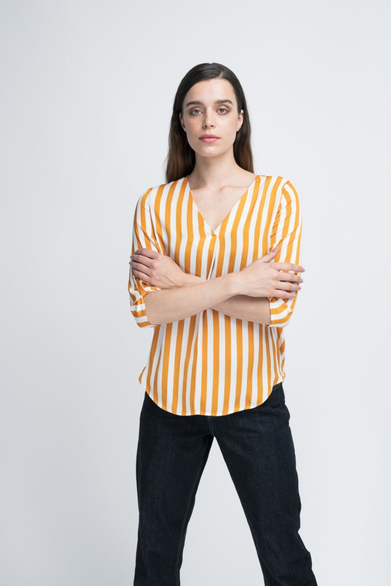 WBLJULES PARIS V-NECK TOP