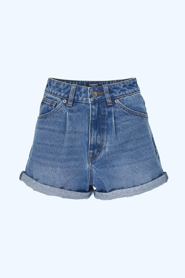WBLCLARA HIGHW DENIM SHORTS