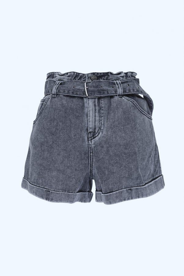 WBLMOLLEY BELTED DENIM SHORTS