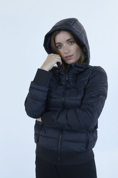 WBLBETTY HOOD LIGHT PUFFER JKT