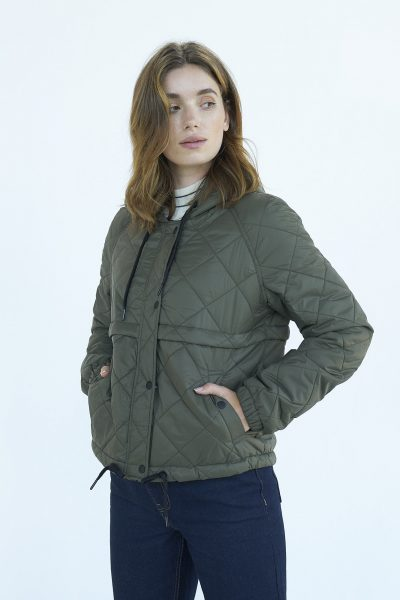 WBLASTRID QUILTED JACKET