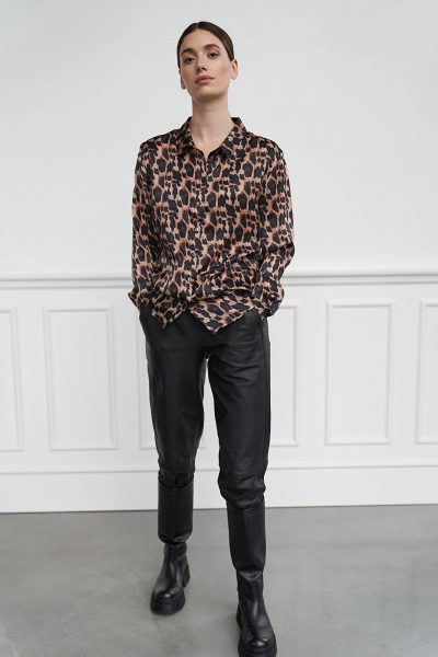 WBLLUCY PORTO SILK LEO SHIRT