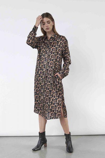 WBLDREW PORTO SILK DRESS