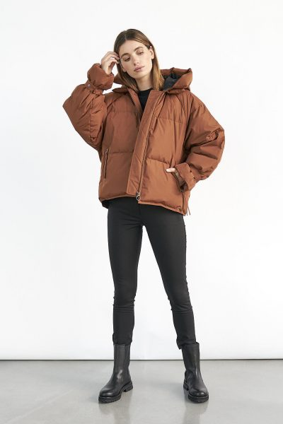 WBLKYLIE REAL DOWN JACKET