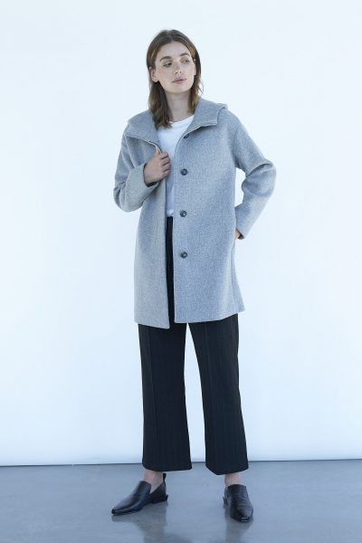 WBLYVONNE HOODED COAT