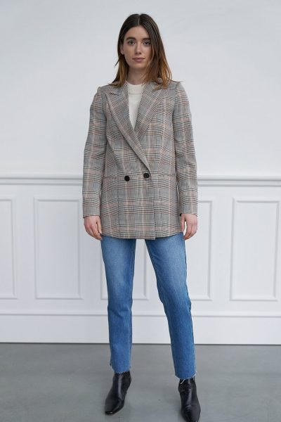 WBLRUBY BLAZER NEW WALES CHECK