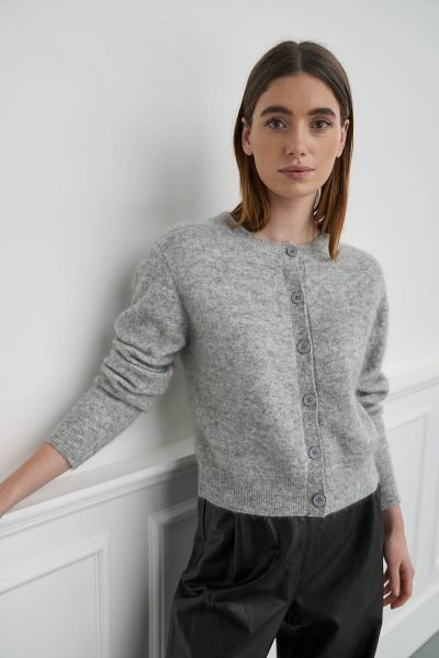 WBLCARLY MOHAIR CARDIGAN