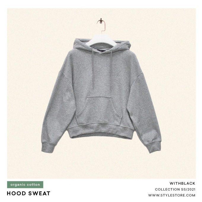 Grey Hoodie, women