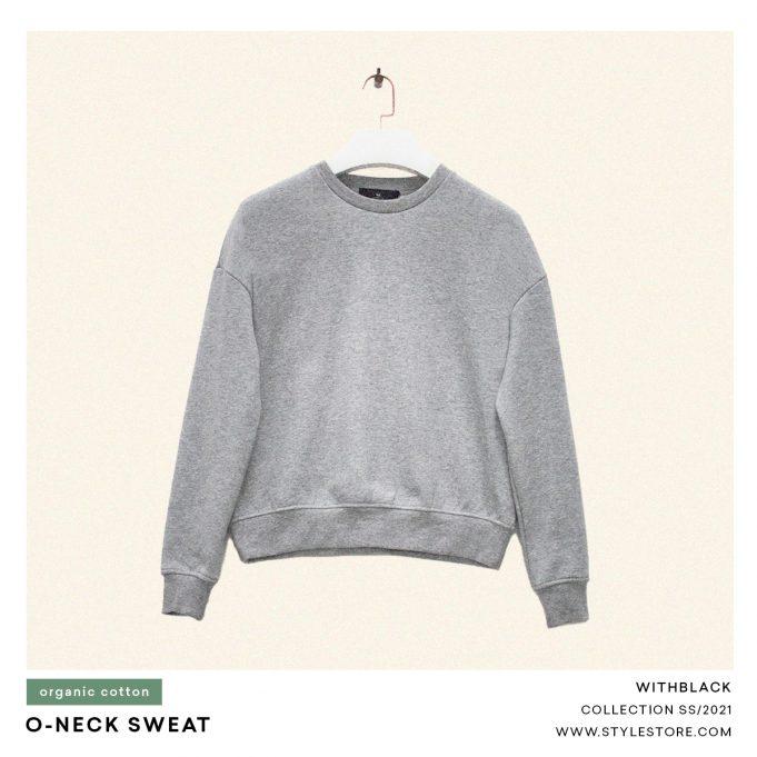 Grey sweatshirt, women