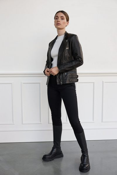 WBLLEXI REAL LEATHER JACKET