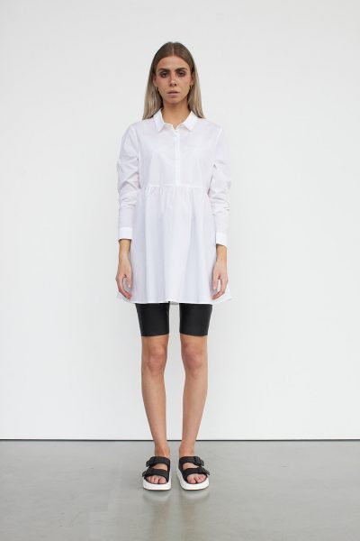 WBLMELIS PLACKET LONG SHIRT