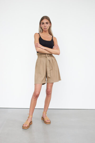 WBLRUBY BELTED TRS SHORTS