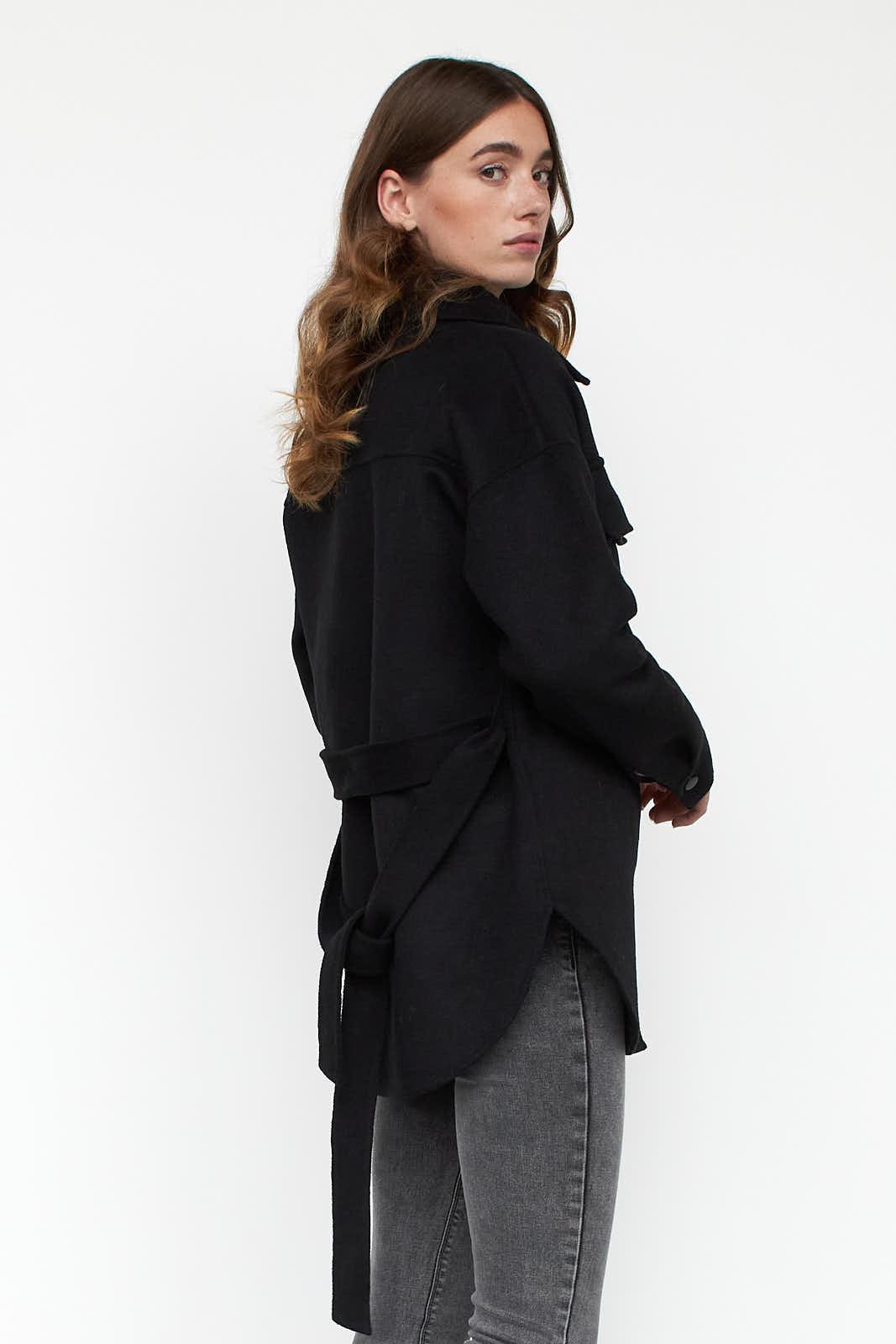 Danielle shirt jacket back